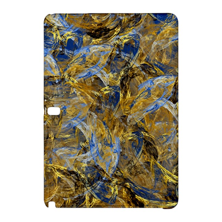 Antique Anciently Gold Blue Vintage Design Samsung Galaxy Tab Pro 10.1 Hardshell Case
