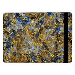 Antique Anciently Gold Blue Vintage Design Samsung Galaxy Tab Pro 12.2  Flip Case