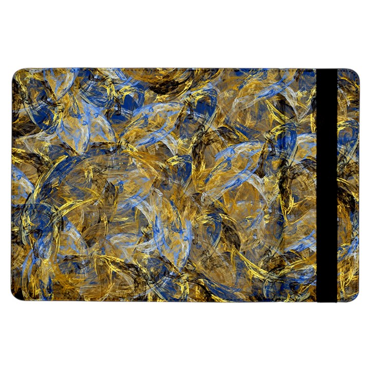 Antique Anciently Gold Blue Vintage Design iPad Air Flip