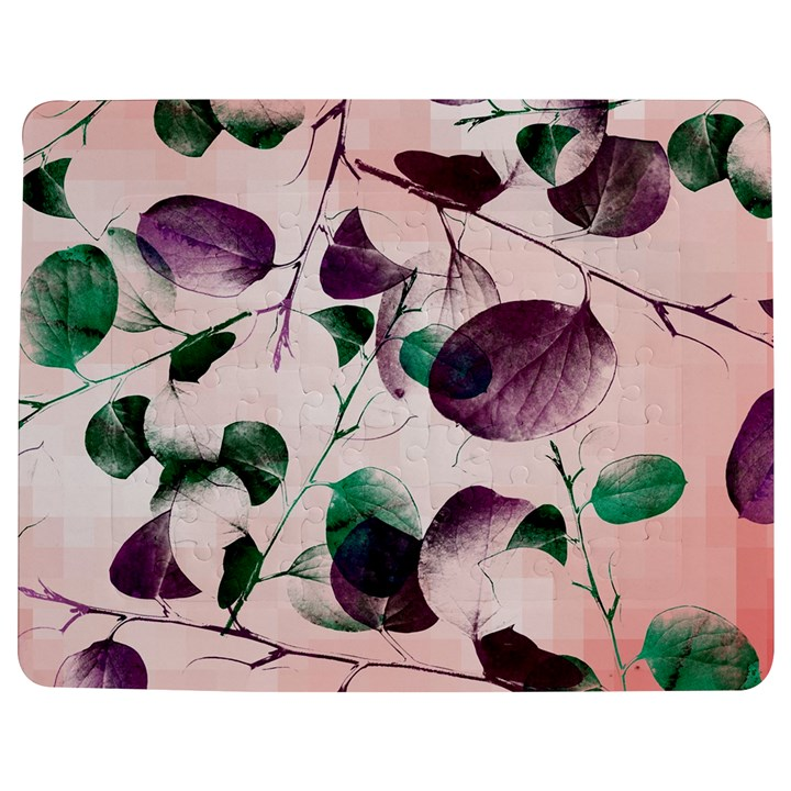 Spiral Eucalyptus Leaves Jigsaw Puzzle Photo Stand (Rectangular)