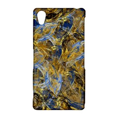 Antique Anciently Gold Blue Vintage Design Sony Xperia Z2