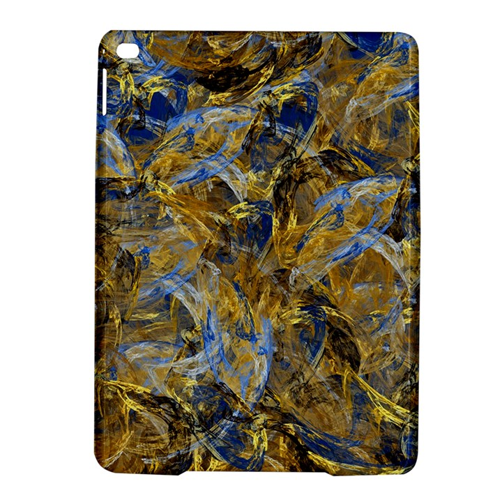 Antique Anciently Gold Blue Vintage Design iPad Air 2 Hardshell Cases
