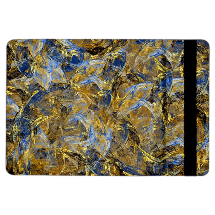 Antique Anciently Gold Blue Vintage Design iPad Air 2 Flip