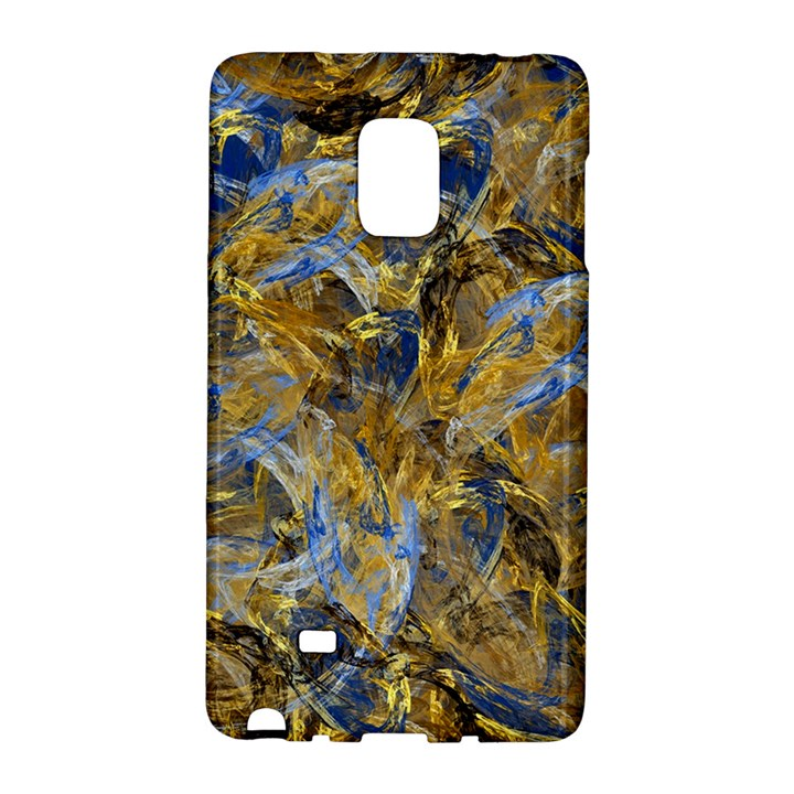 Antique Anciently Gold Blue Vintage Design Galaxy Note Edge