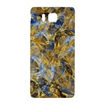 Antique Anciently Gold Blue Vintage Design Samsung Galaxy Alpha Hardshell Back Case Front