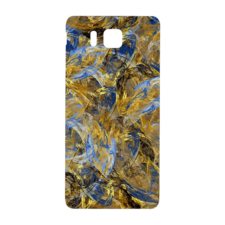 Antique Anciently Gold Blue Vintage Design Samsung Galaxy Alpha Hardshell Back Case