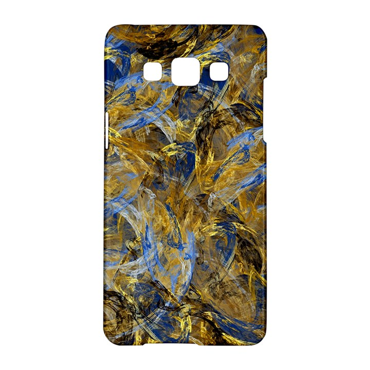Antique Anciently Gold Blue Vintage Design Samsung Galaxy A5 Hardshell Case