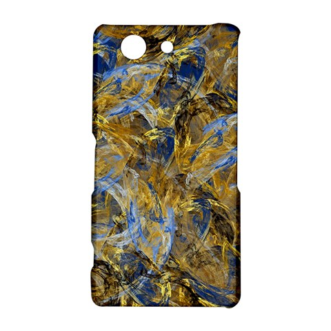 Antique Anciently Gold Blue Vintage Design Sony Xperia Z3 Compact