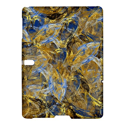 Antique Anciently Gold Blue Vintage Design Samsung Galaxy Tab S (10.5 ) Hardshell Case