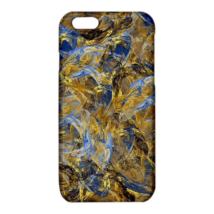Antique Anciently Gold Blue Vintage Design iPhone 6/6S TPU Case