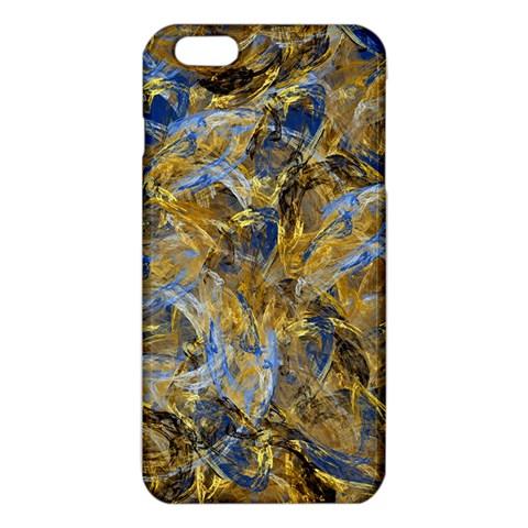 Antique Anciently Gold Blue Vintage Design iPhone 6 Plus/6S Plus TPU Case