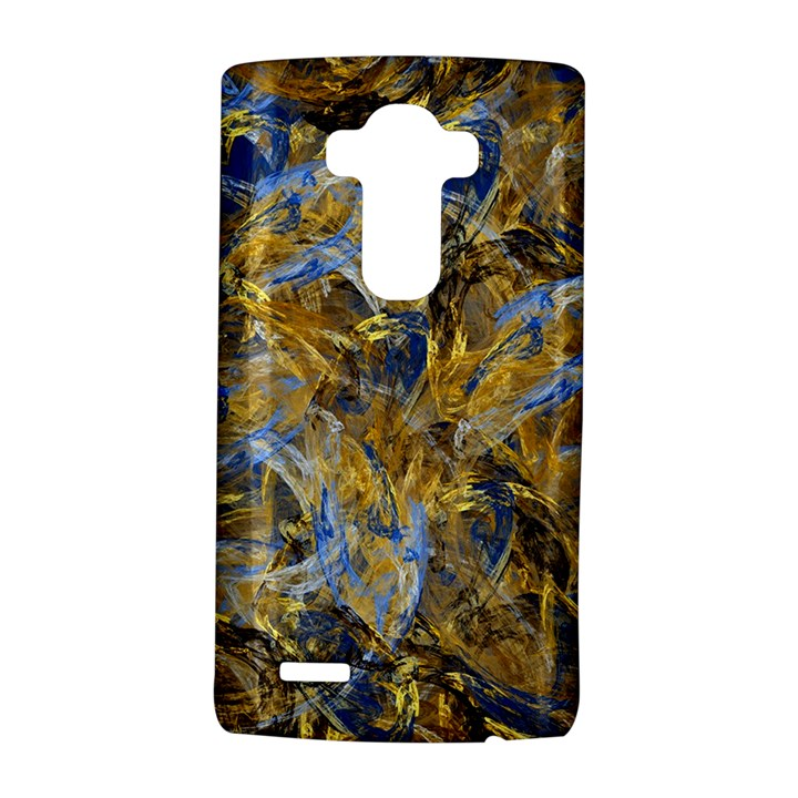 Antique Anciently Gold Blue Vintage Design LG G4 Hardshell Case