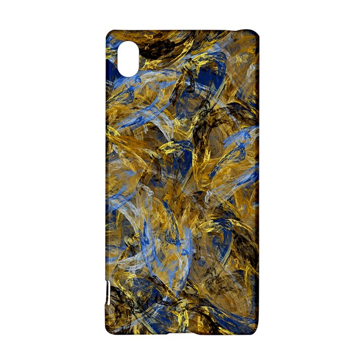Antique Anciently Gold Blue Vintage Design Sony Xperia Z3+