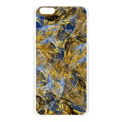 Antique Anciently Gold Blue Vintage Design Apple Seamless iPhone 6 Plus/6S Plus Case (Transparent)