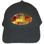 Indian Summer Funny Check Black Cap Front