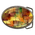 Indian Summer Funny Check Belt Buckles Front