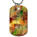 Indian Summer Funny Check Dog Tag (Two Sides) Back