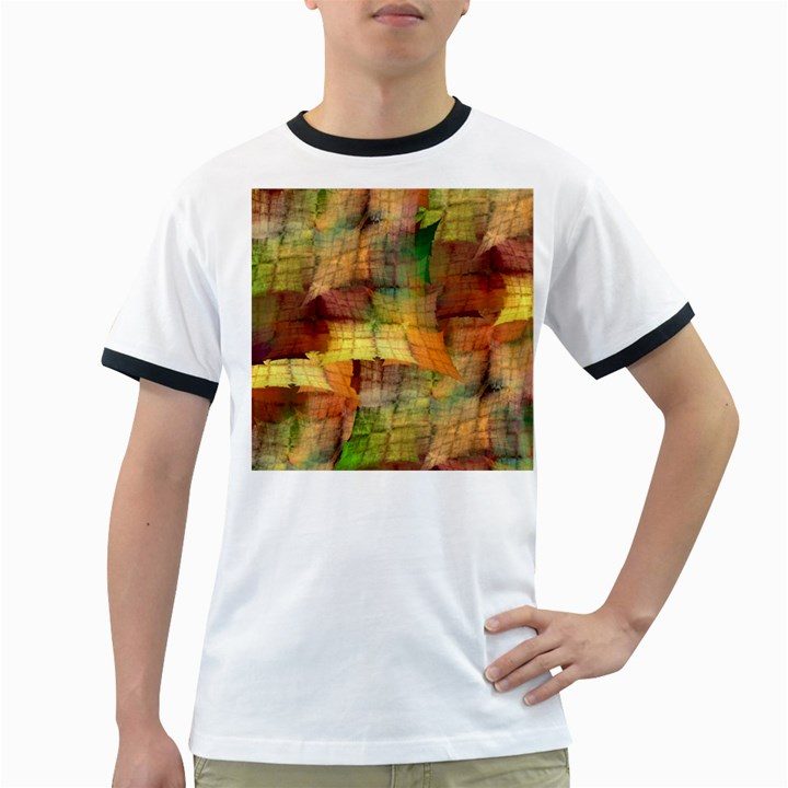 Indian Summer Funny Check Ringer T-Shirts