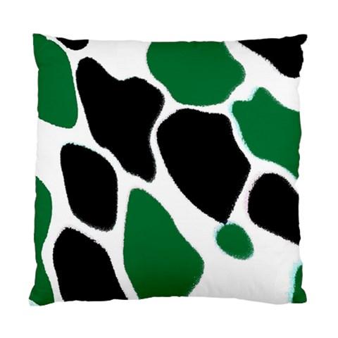 Green Black Digital Pattern Art Standard Cushion Case (One Side)