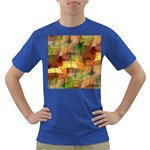 Indian Summer Funny Check Dark T-Shirt Front