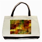 Indian Summer Funny Check Basic Tote Bag Front