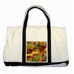 Indian Summer Funny Check Two Tone Tote Bag Front