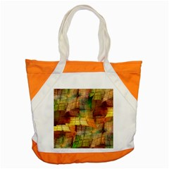 Indian Summer Funny Check Accent Tote Bag