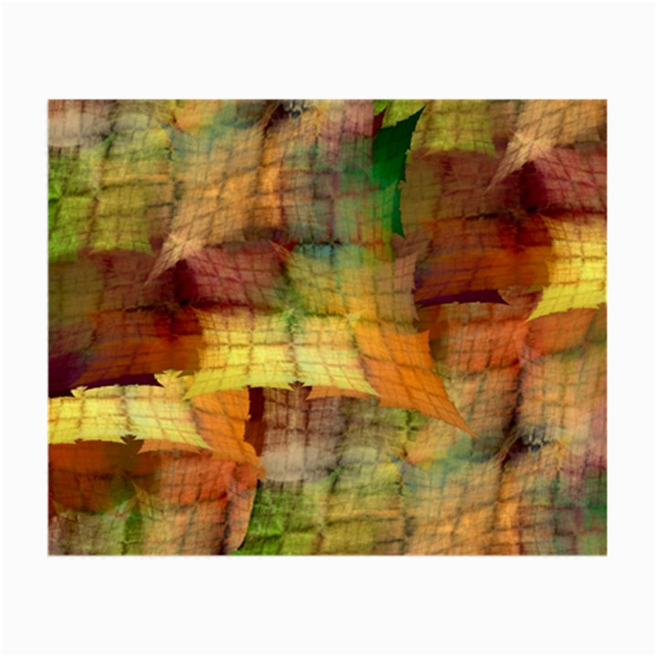 Indian Summer Funny Check Small Glasses Cloth (2-Side)