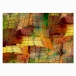 Indian Summer Funny Check Large Glasses Cloth (2-Side) Front