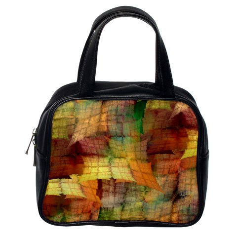 Indian Summer Funny Check Classic Handbags (One Side)