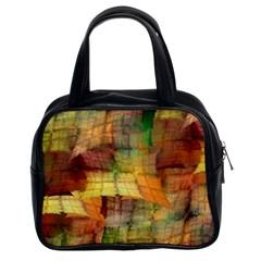 Indian Summer Funny Check Classic Handbags (2 Sides)