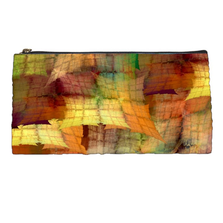 Indian Summer Funny Check Pencil Cases