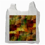 Indian Summer Funny Check Recycle Bag (Two Side)  Back