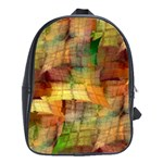 Indian Summer Funny Check School Bags(Large)  Front