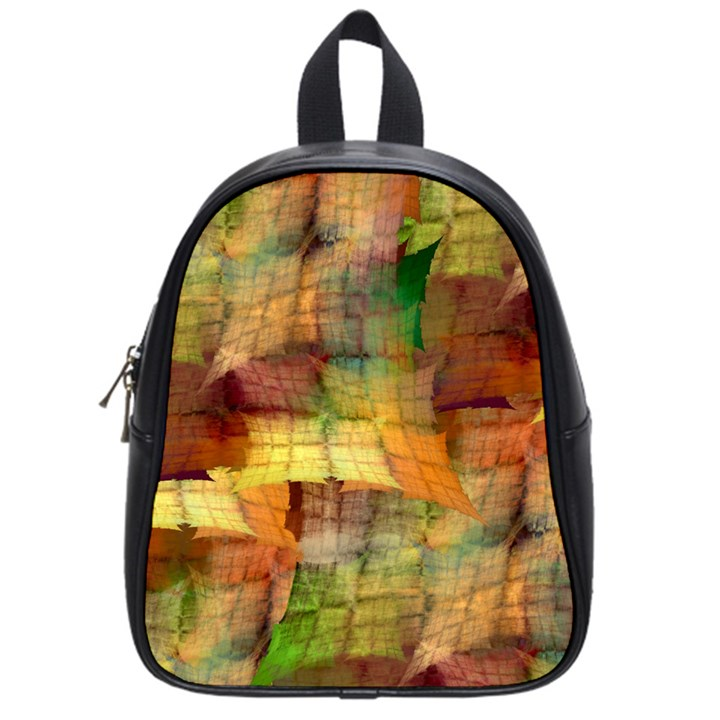 Indian Summer Funny Check School Bags (Small)