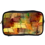 Indian Summer Funny Check Toiletries Bags 2-Side Back