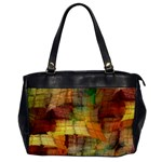 Indian Summer Funny Check Office Handbags Front