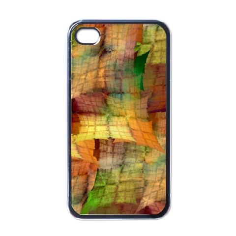 Indian Summer Funny Check Apple iPhone 4 Case (Black)
