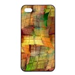 Indian Summer Funny Check Apple iPhone 4/4s Seamless Case (Black) Front