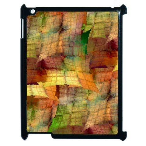 Indian Summer Funny Check Apple iPad 2 Case (Black)
