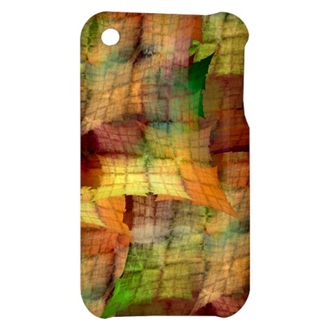 Indian Summer Funny Check Apple iPhone 3G/3GS Hardshell Case