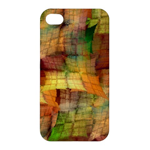Indian Summer Funny Check Apple iPhone 4/4S Hardshell Case