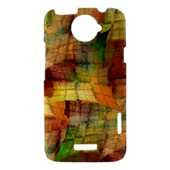 Indian Summer Funny Check HTC One X Hardshell Case