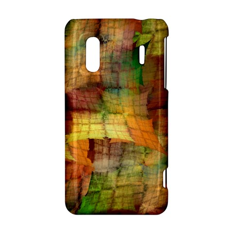 Indian Summer Funny Check HTC Evo Design 4G/ Hero S Hardshell Case