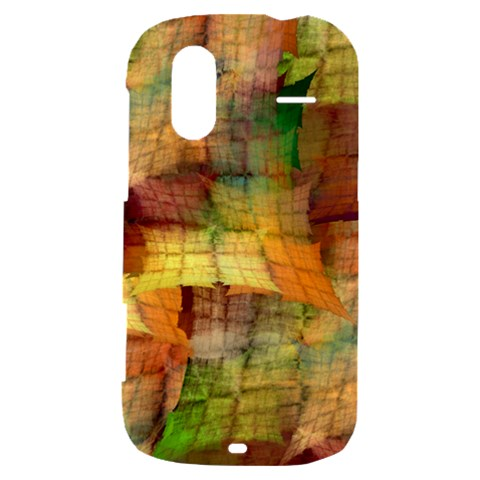Indian Summer Funny Check HTC Amaze 4G Hardshell Case