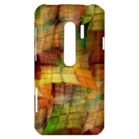 Indian Summer Funny Check HTC Evo 3D Hardshell Case