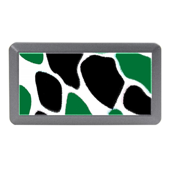 Green Black Digital Pattern Art Memory Card Reader (Mini)