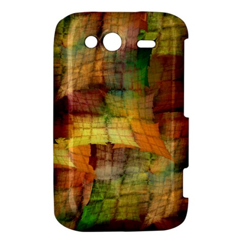Indian Summer Funny Check HTC Wildfire S A510e Hardshell Case