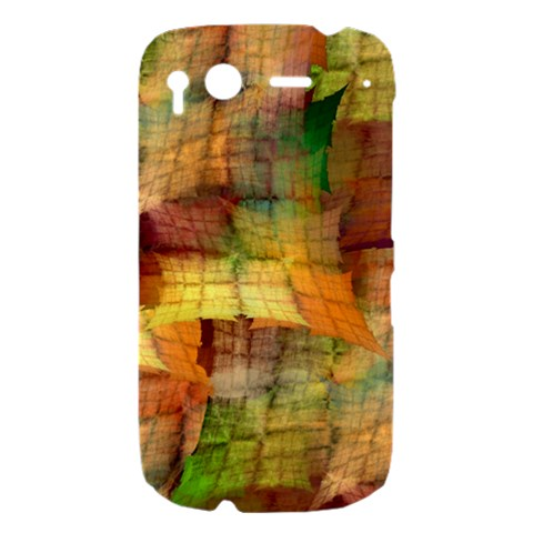 Indian Summer Funny Check HTC Desire S Hardshell Case