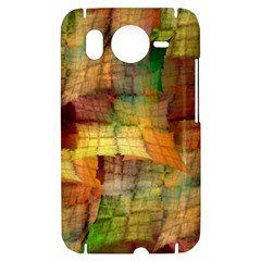 Indian Summer Funny Check HTC Desire HD Hardshell Case